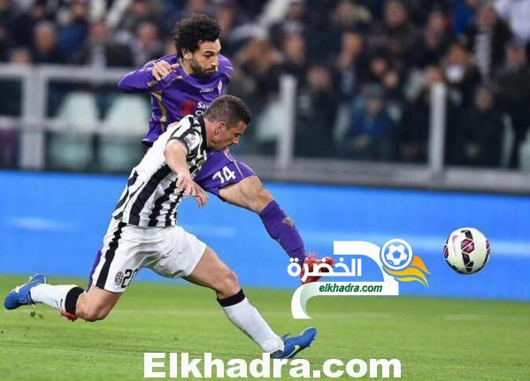 محمد صلاح يقود فيورنتينا لتحقيق فوز غال على حساب مضيفه يوفنتوس 2-1
